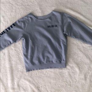 Brandy Melville Malibu-CA sweatshirt